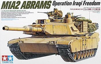 M1A2 Abrams 120mm Gun Tank -- Plastic Model Military Vehicle Kit -- 1/35 Scale -- #35269